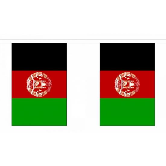 Polyester vlaggenlijn afghanistan (bron: Oranjediscounter)