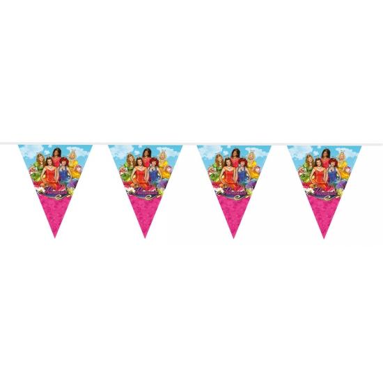 Prinsessia versiering vlaggenlijn 10 meter (bron: Oranjediscounter)