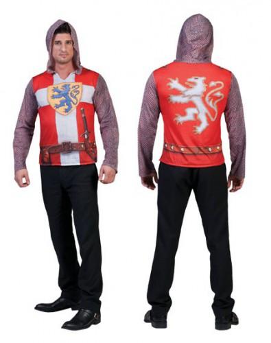 Ridderpak 3D t-shirt voor heren (bron: Oranjediscounter)