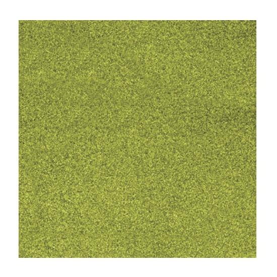 Scrapbooking papier grasgroen glitter (bron: Oranjediscounter)