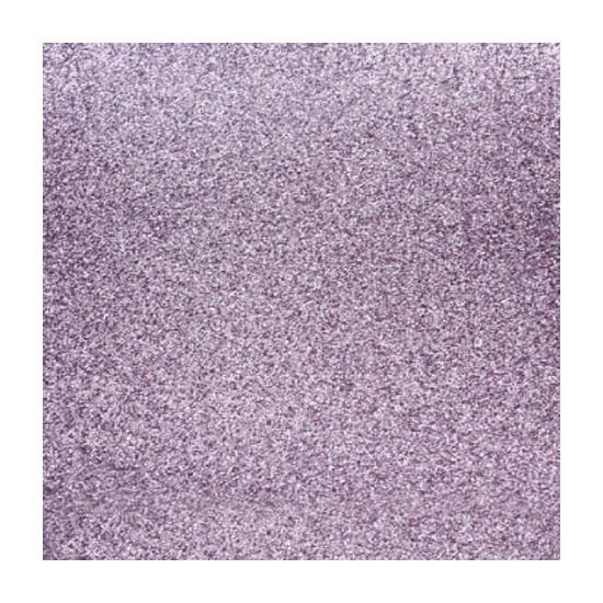 Scrapbooking papier lila paars glitter (bron: Oranjediscounter)