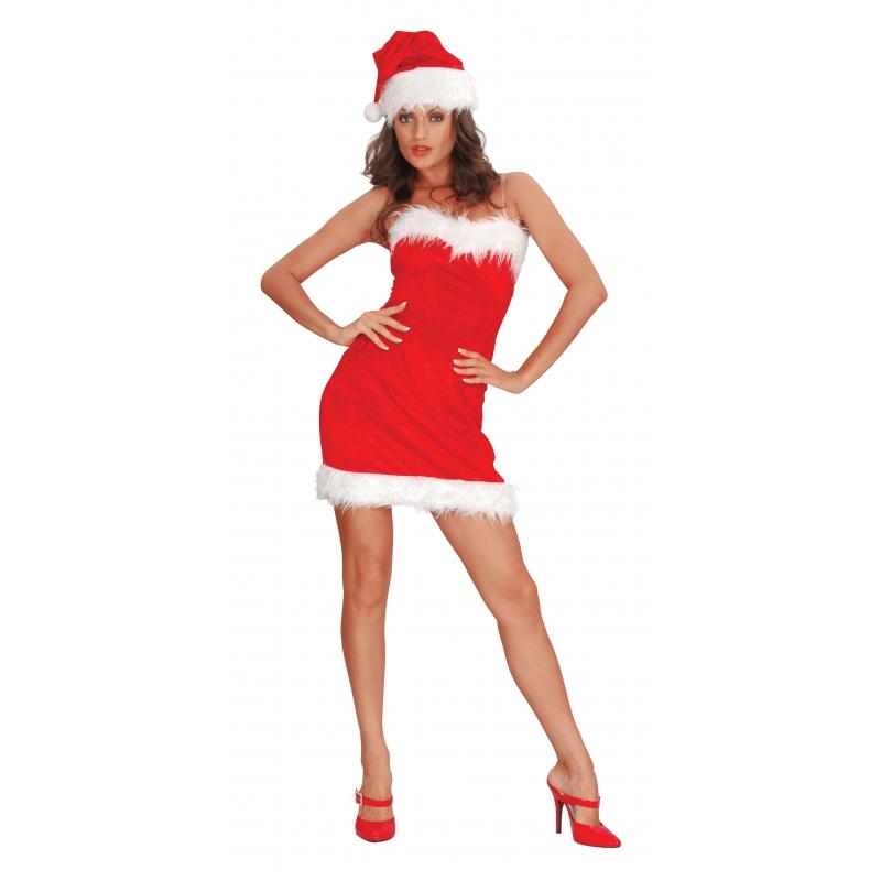 Sexy santa jurkje voor dames (bron: Oranjediscounter)