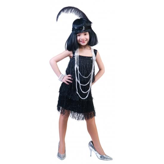 Showgirl jurkje voor meisjes (bron: Oranjediscounter)