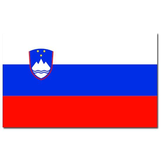 Sloveense vlag 90x150 cm