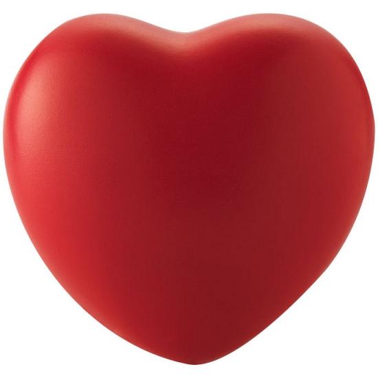 Stressballetje in de vorm van een hartje