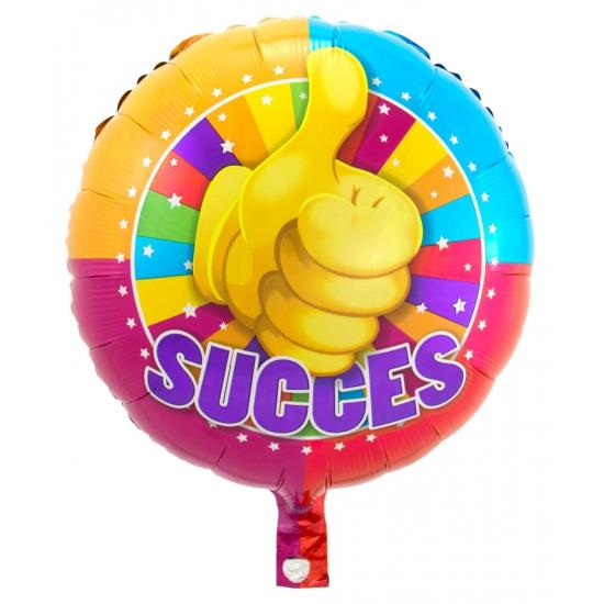 Succes folie ballonnen