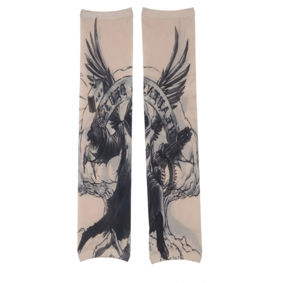 Tattoo mouwen met adelaar voor volwassenen