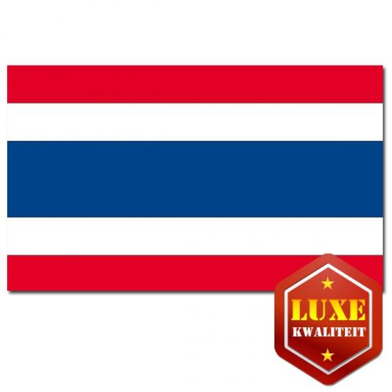 Thaise vlaggen goede kwaliteit (bron: Oranjediscounter)