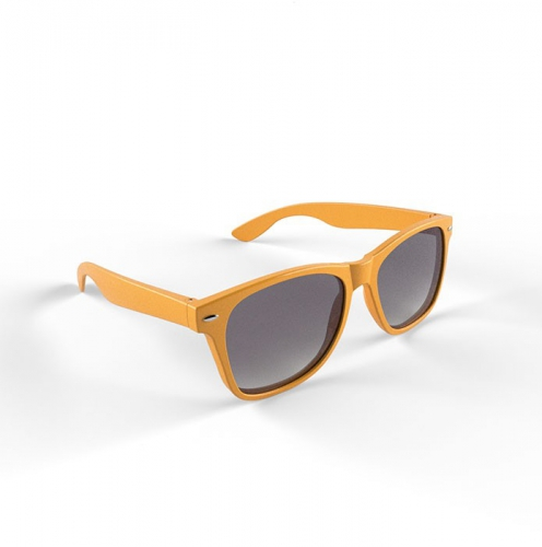 Trendy zonnebrillen oranje