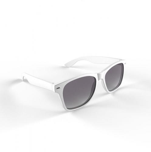 Trendy zonnebrillen wit (bron: Oranjediscounter)