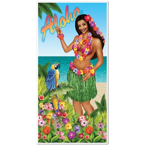 Tropische deurposter Hawai 76 x 150 cm