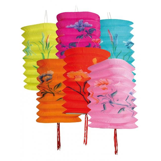 Tropische lampionnen 12 stuks