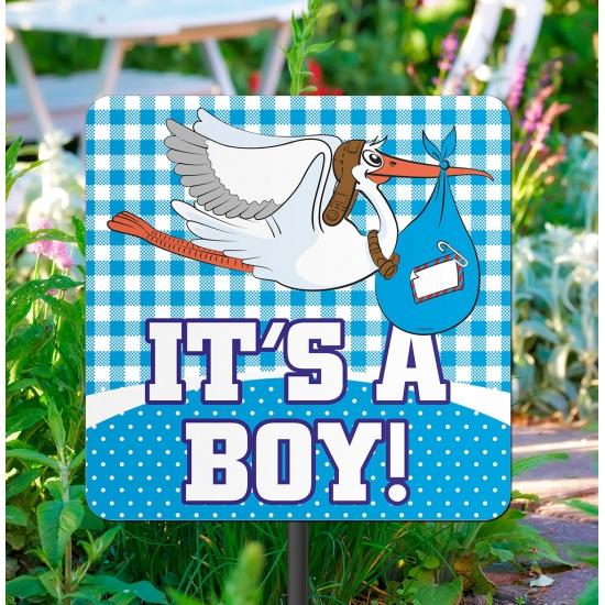 Tuinbord its a boy