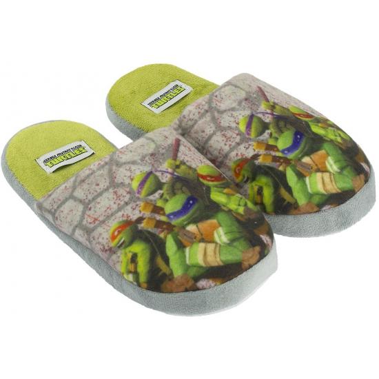 Turtles kindersloffen grijs