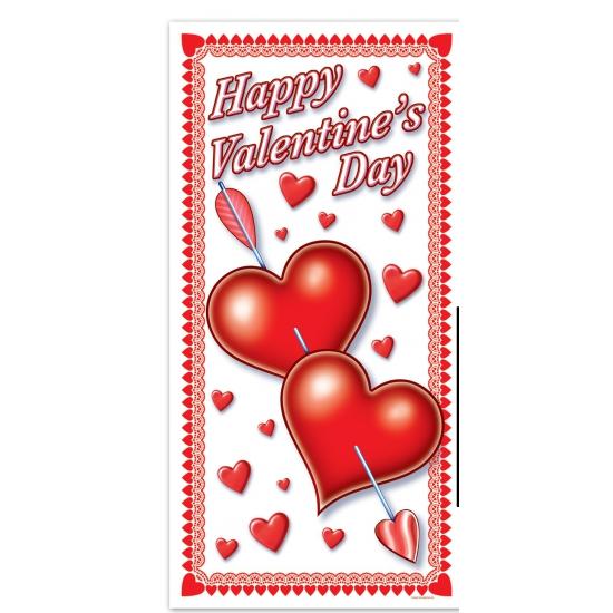 Valentijn deurposter 152 cm