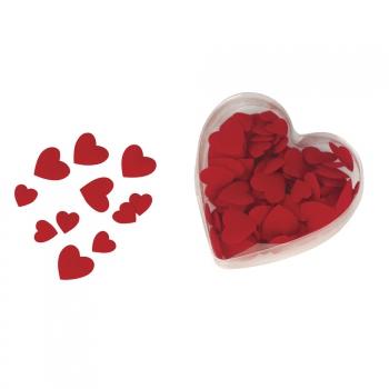 Valentijn strooihartjes rood