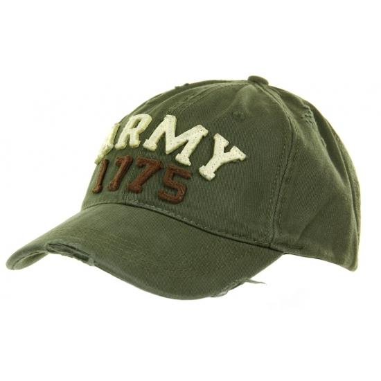 Vintage army pet voor volwassenen