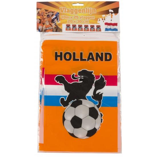 Vlaggenlijnen Holland 10 meter