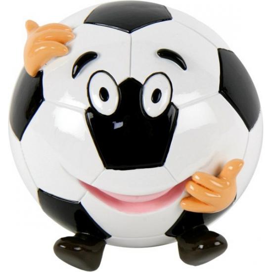 Voetbal spaarpot met gezicht (bron: Oranjediscounter)