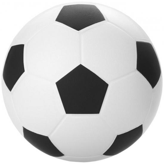 Voetbal stressballetjes 6 cm