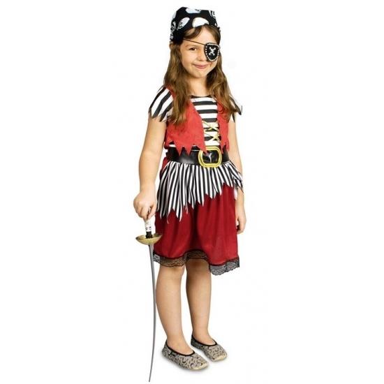 Voordelig piratenpakje voor meisjes (bron: Oranjediscounter)