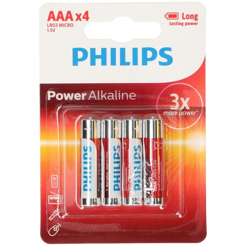 Voordelige Philips AAA batterijen