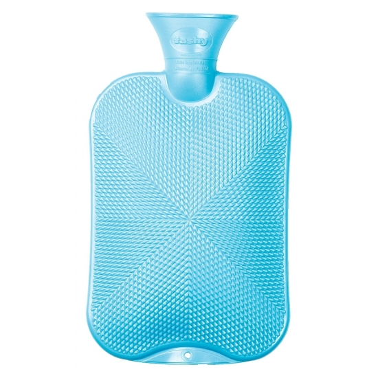 Warmwaterkruik blauw 20L