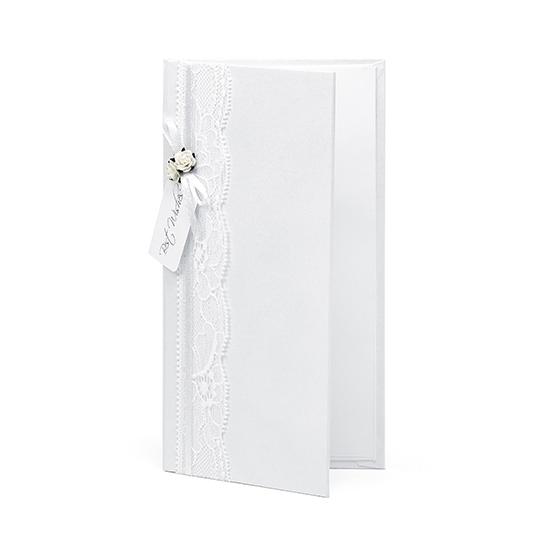 Wit kado doosje voor het bruidspaar