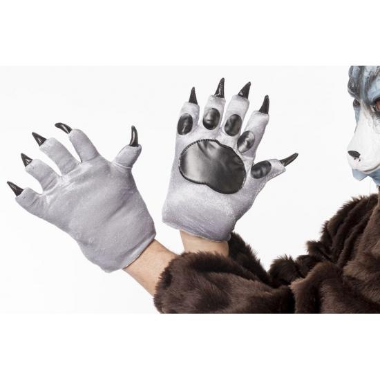Wolven klauwen handschoenen voor volwassenen (bron: Oranjediscounter)