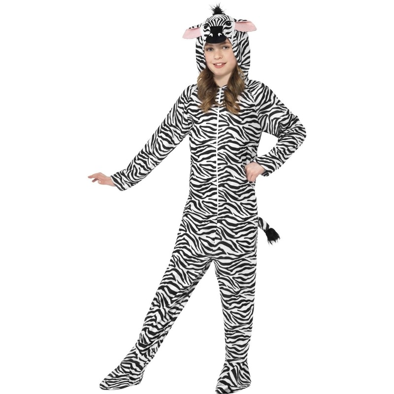 Zebra huispak voor kinderen