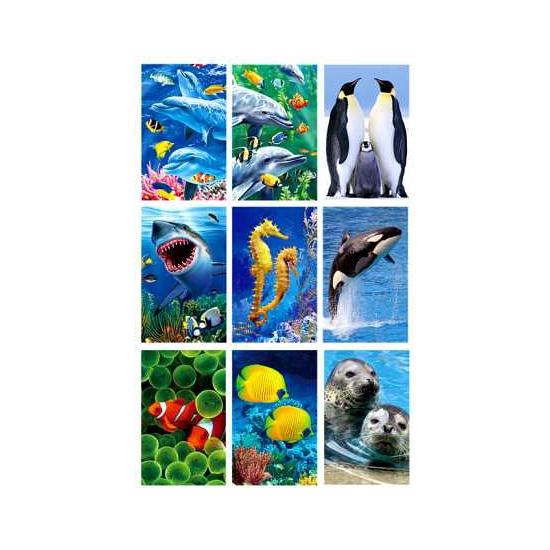 Zeedieren stickerset