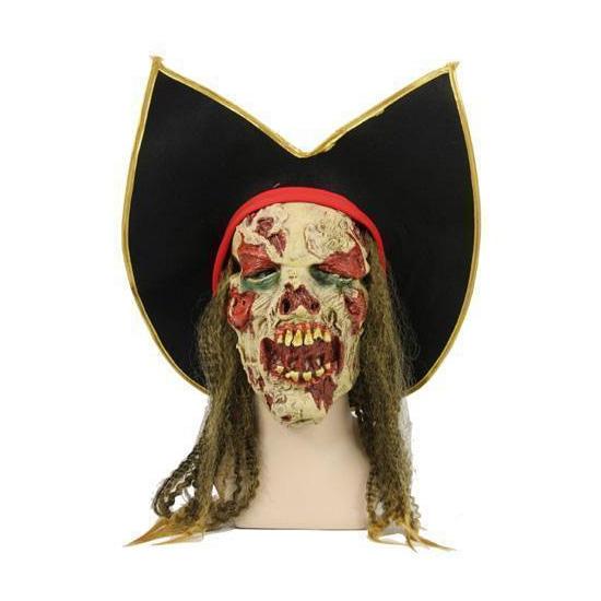 Zombie piraten maskers