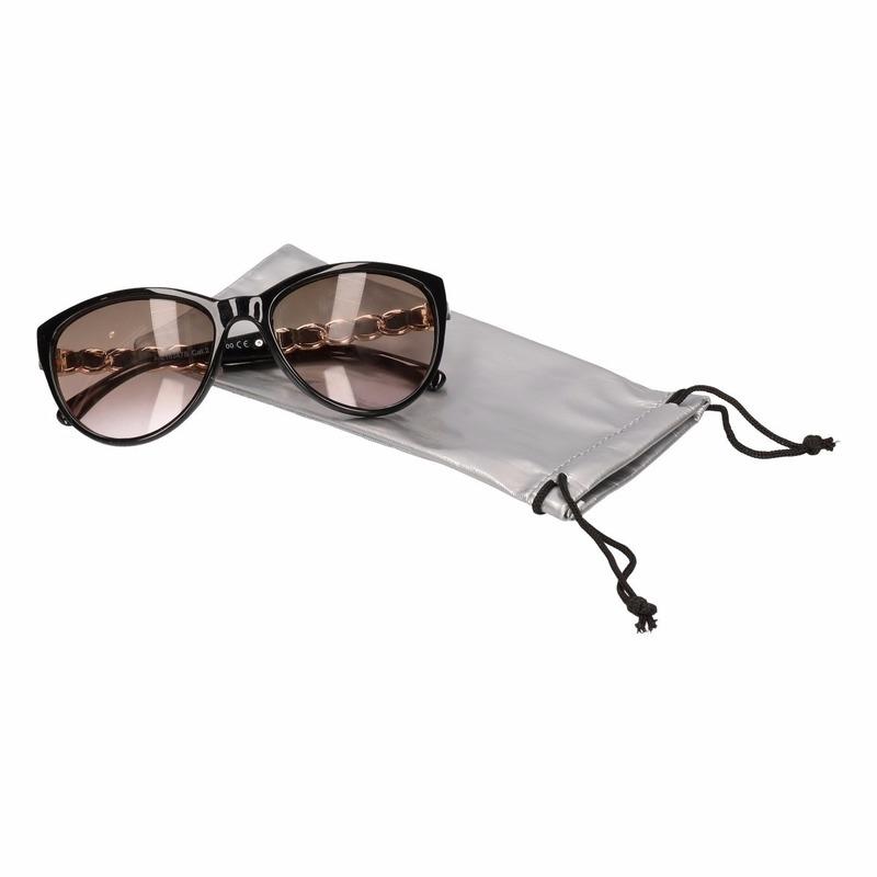 Zonnebrillen hoesje zilver