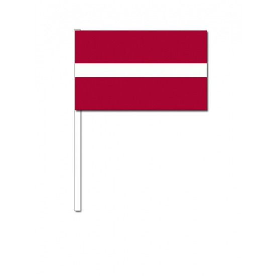 Zwaaivlaggetjes Letland
