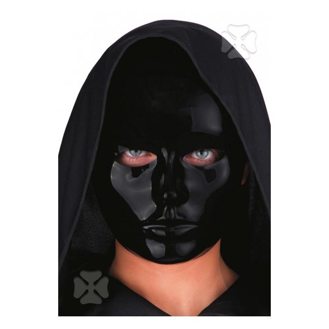 Zwart mensen gezicht masker