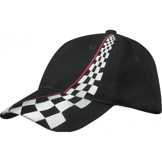 Zwarte Formule 1 racing baseball caps