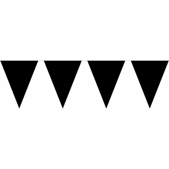 Zwarte horror vlaggenlijn 10 m