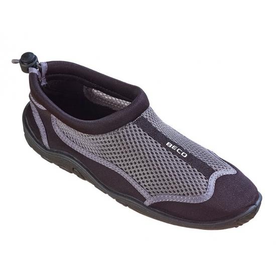 Zwarte neopreen waterschoenen voor dames