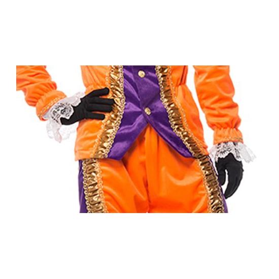 Zwarte Piet handschoenen kort