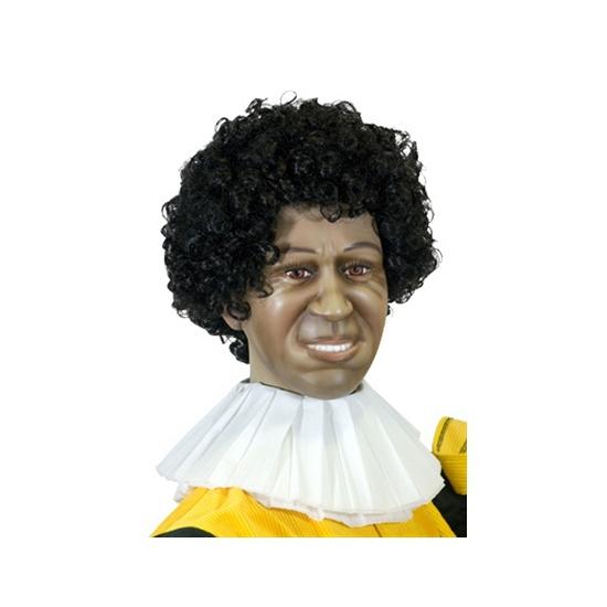 Zwarte Piet papieren kraag