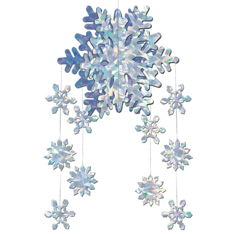 3D sneeuwvlok decoratie mobiel