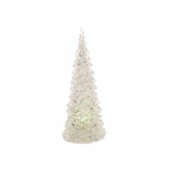 Acryl kerstboom met LED licht 23 cm