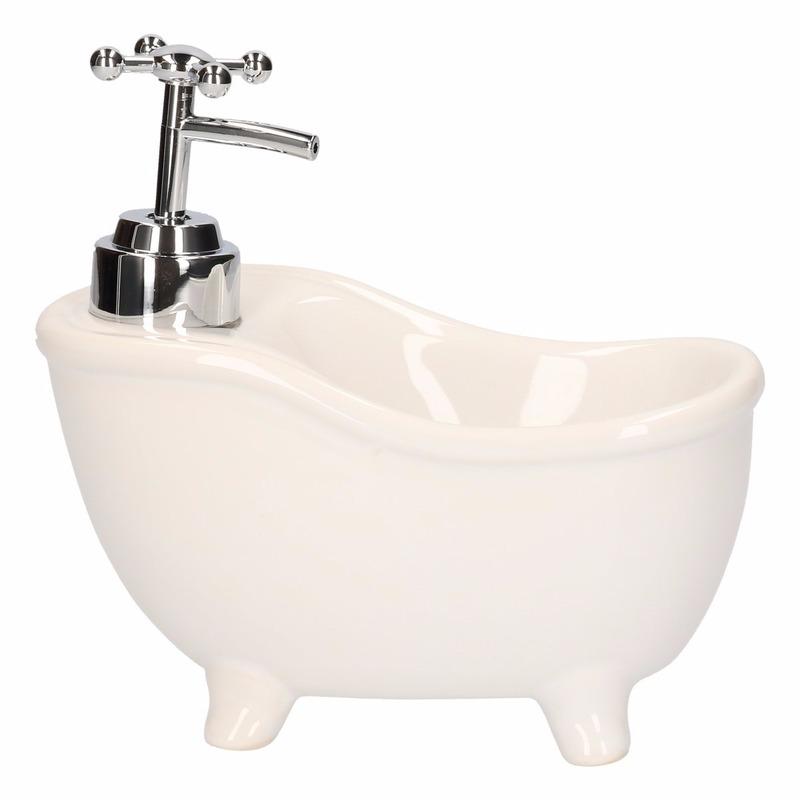 Badkuip zeep dispenser