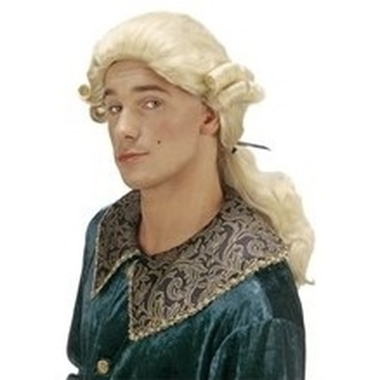 Barok lange herenpruik graaf