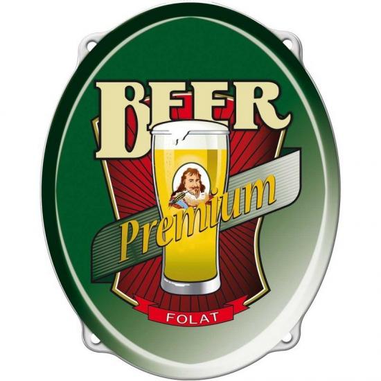 Bier Decoratie Borden 42 Cm