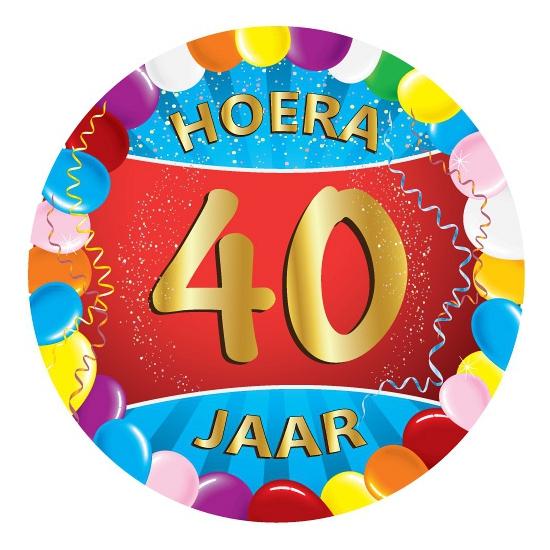 Bierviltjes 40 jaar feestartikelen