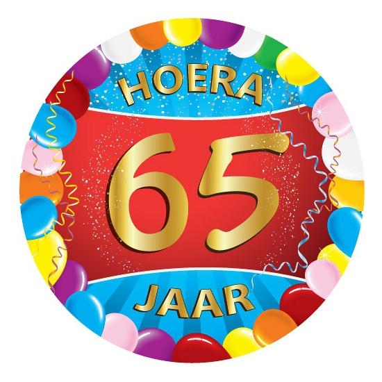 Bierviltjes 65 jaar feestartikelen