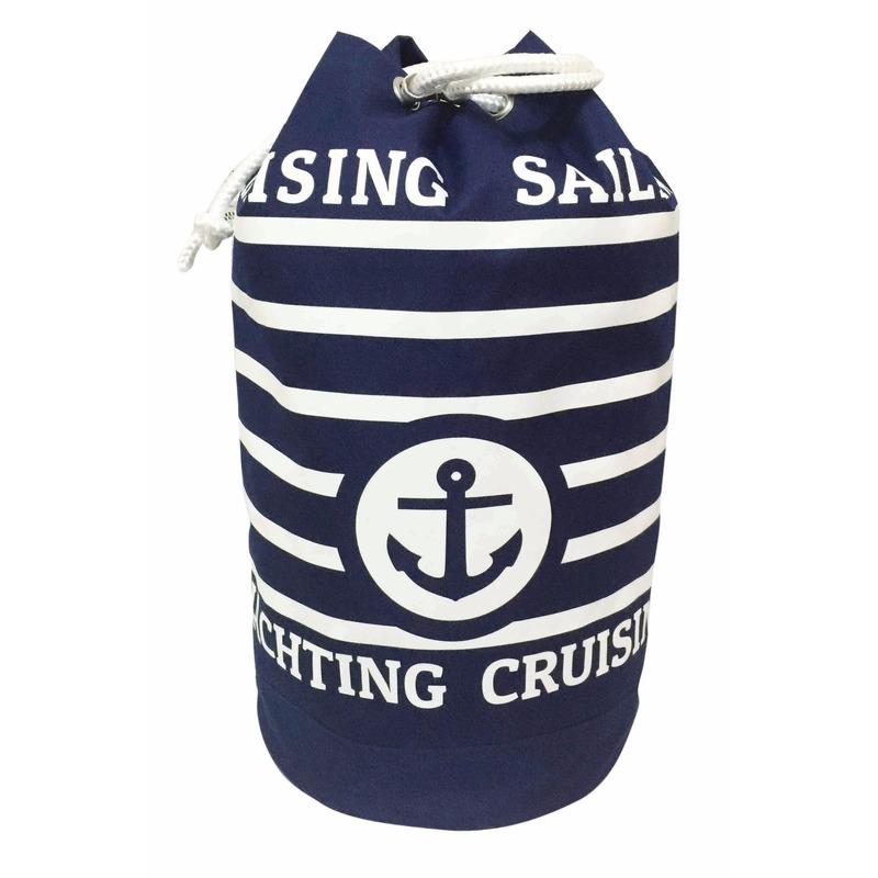 Blauwe duffel rugzak Cruise 54 cm
