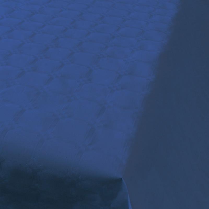 Blauwe thema versiering papieren tafelkleed 800 x 118 cm