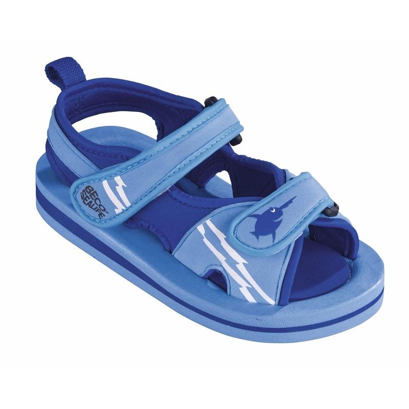 Blauwe zwemschoenen jongens baby-peuter